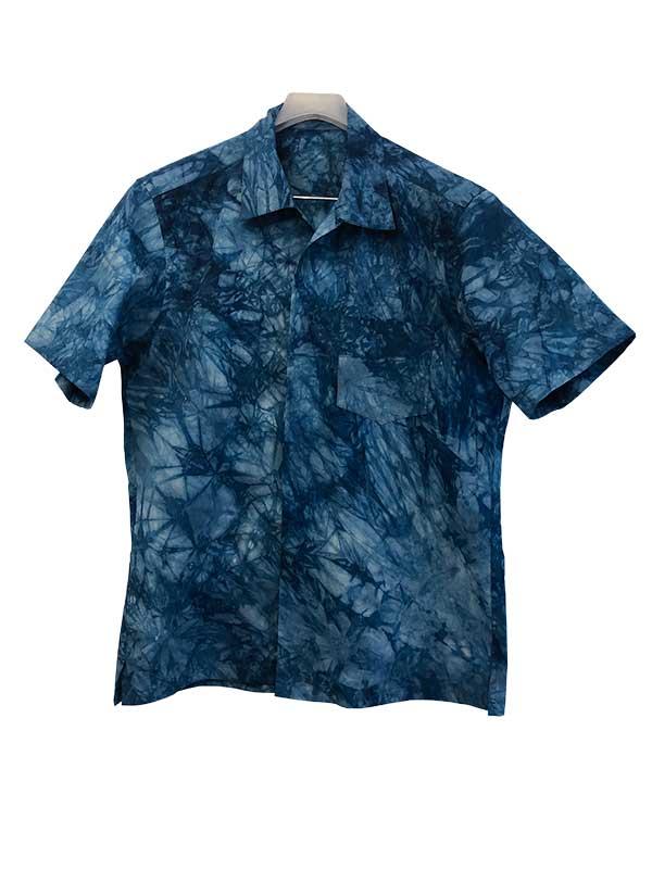 藍染 アロハシャツ 藍の郷 あさもと公房
